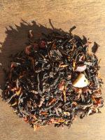 chocolate strawberry saffron tea