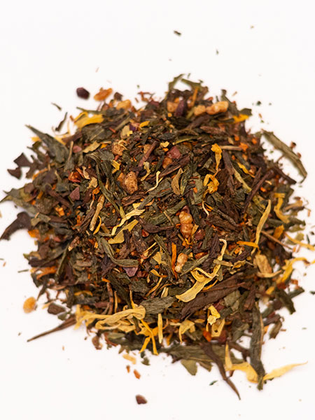 caramel green tea