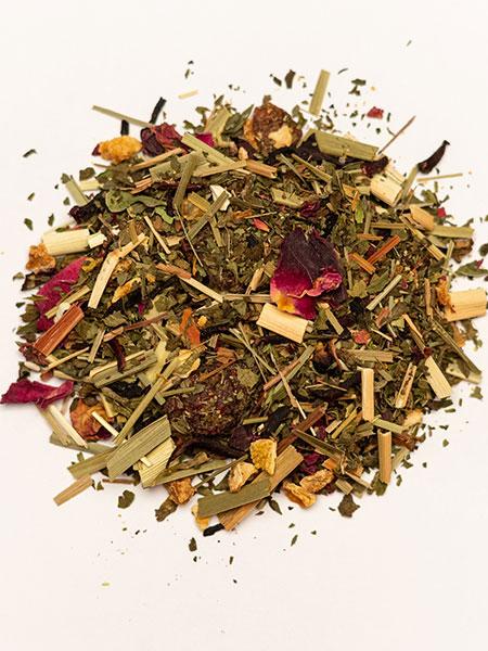 peppermint citrus tea