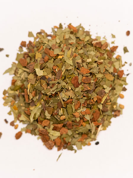 spiced yerba mate loose leaf tea