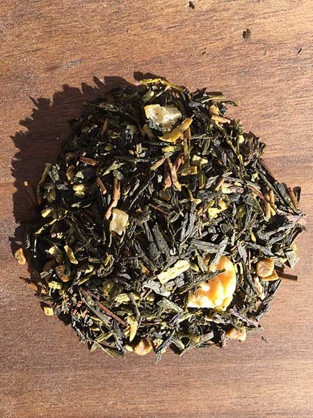 toasted walnut green tea