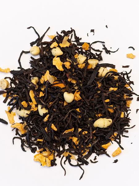 white chocolate orange tea