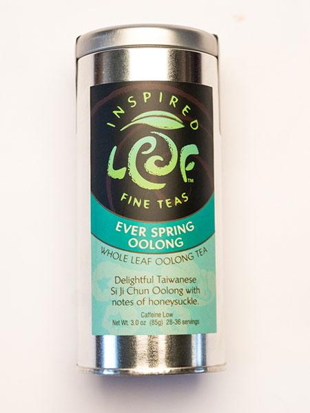 ever spring oolong tea in tin