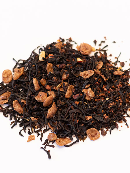 chocolate toffee hazelnut tea