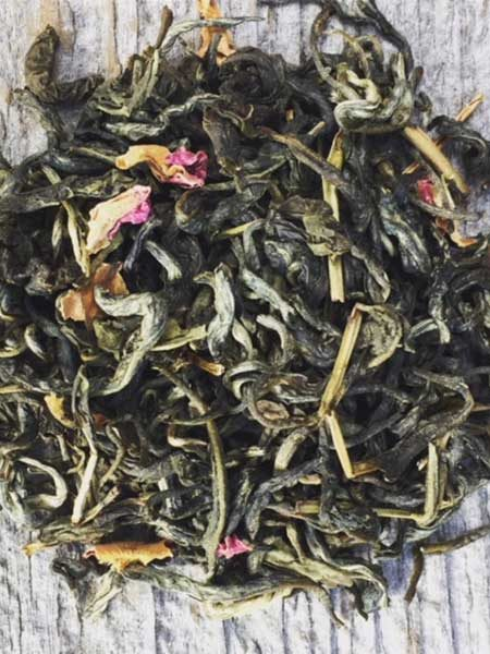 Vanilla Rose White Monkey Tea Loose