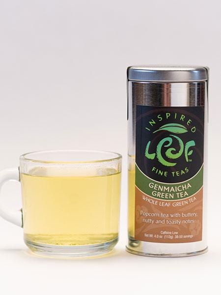 Genmaicha Green Tea with mug