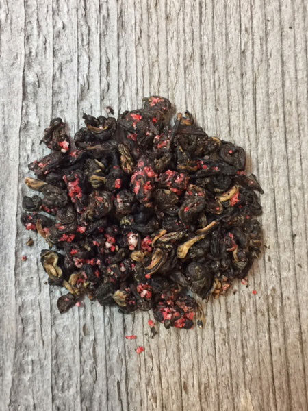 chocolate candy cane black tea