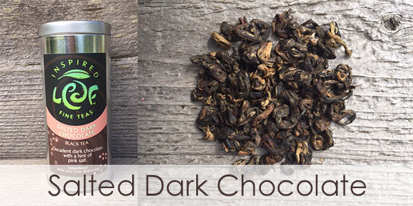 salted dark chocolate tea