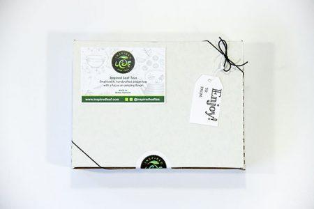 inspiration tea gift box outside