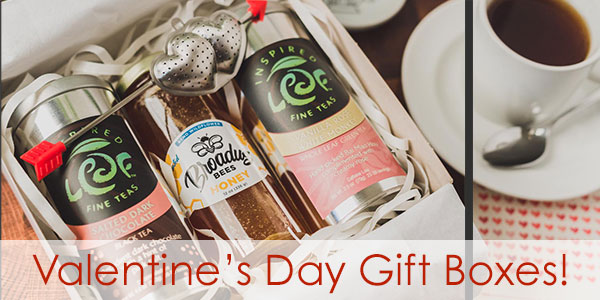 Valentines Day Tea Gift Boxes