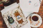 birthday cake tea and honey gift box