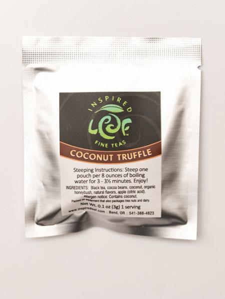 coconut truffle tea single