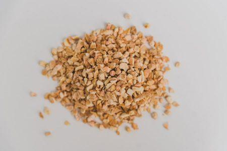 organic dried orange peel